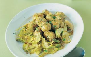 Ricetta polpettine con carciofi e patate