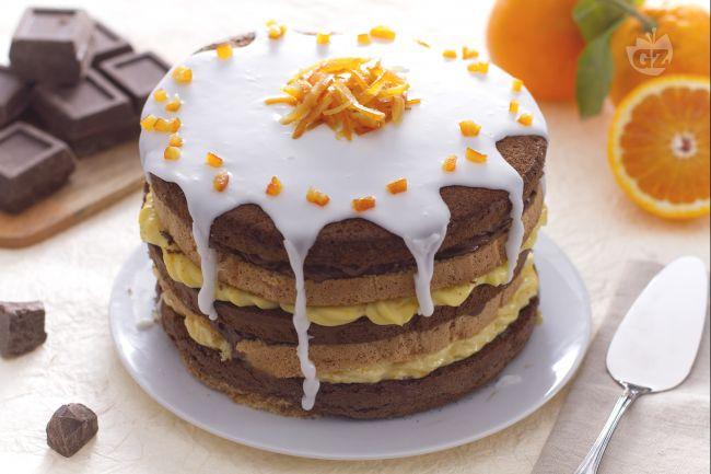 Ricetta torta doppia cioccolato e arancia