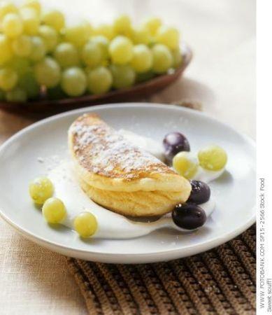 Ricetta frittata dolce all'uva