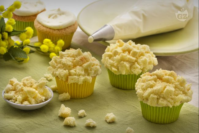 Ricetta cupcake mimosa