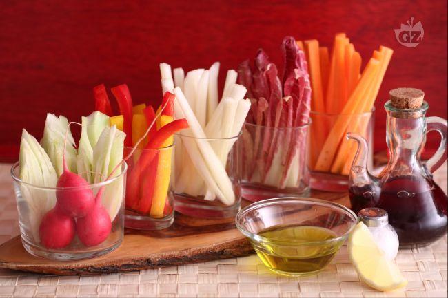 Ricetta pinzimonio di verdure