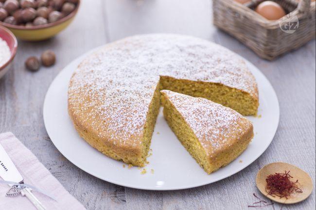 Ricetta torta allo zafferano