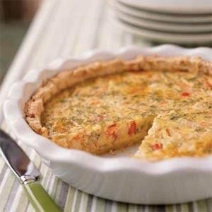 Ricetta torta di gamberetti asparagi e carciofi
