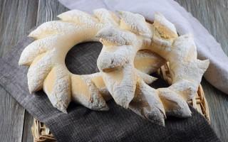 Ricetta ghirlanda di pane