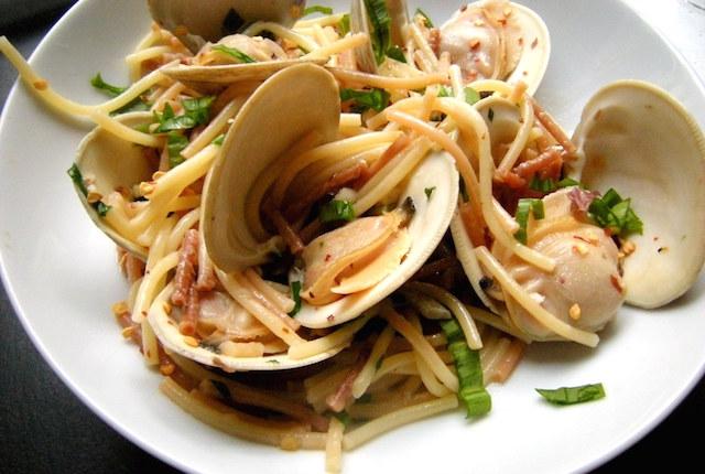 Spaghetti ai fasolari
