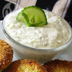 Tzatziki greco con aglio arrostito