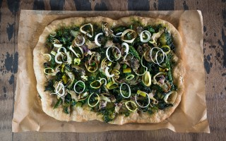 Ricetta pizza vegana