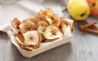 Ricetta chips di mela