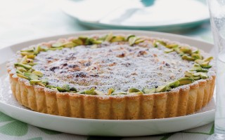 Ricetta torta di grano, ricotta e pistacchi