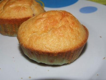 Ricetta muffin al prosciutto e formaggio