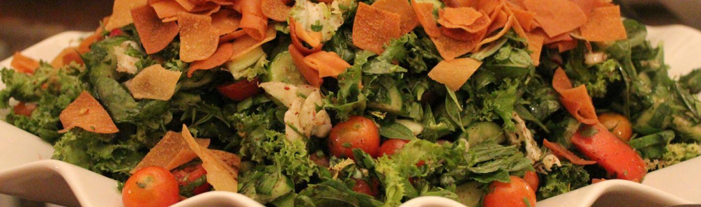 Ricetta insalata libanese (fattoush)