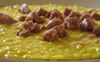 Ricetta riso giallo e mortadella d'oca