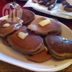 Pancakes ai mirtilli con farina di farro