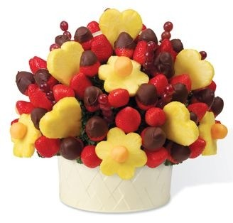 Ricetta bouquet di frutta