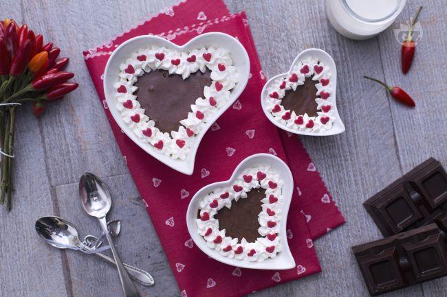 Ricetta mousse di cioccolato e peperoncino