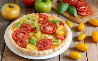 Ricetta torta salata con pomodori
