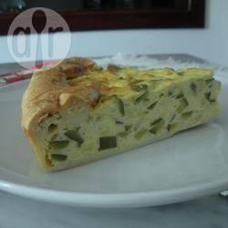 Quiche di zucchine e cipollotti e formaggio