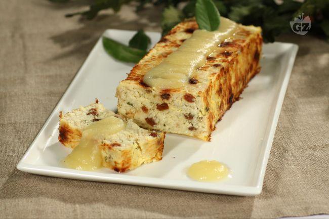 Ricetta terrina di baccalà con salsa di mele