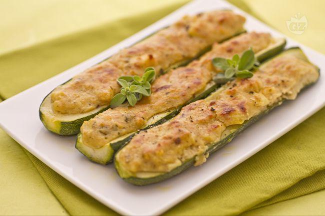 Ricetta zucchine ripiene alla ligure