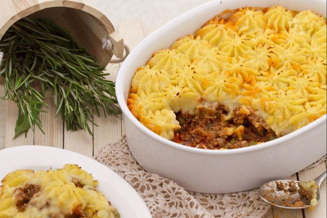 Ricetta shepherd's pie