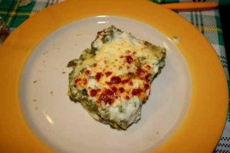 Ricetta lasagne al forno al verde