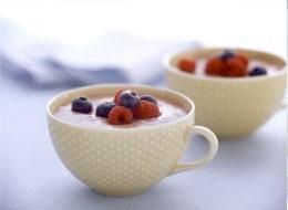 Ricetta crema inglese con frutti di bosco