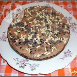 Cheesecake al cioccolato (senza forno)
