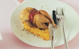 Ricetta crostoni di polenta fritta con le quaglie in casseruola ...