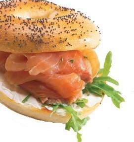 Ricetta bagel al salmone