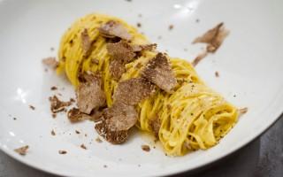 Ricetta tajarin al burro di cacao e tartufo
