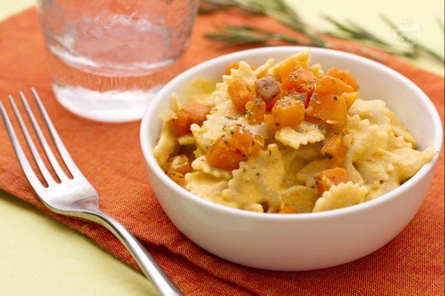 Ricetta pasta con la zucca