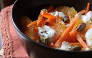 Ricetta insalata di carote e arance