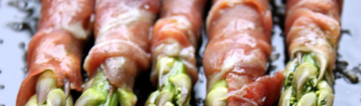Ricetta asparagi al prosciutto crudo di parma