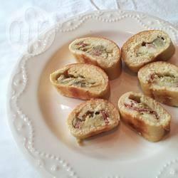 Pan brioche salato con carciofi e prosciutto