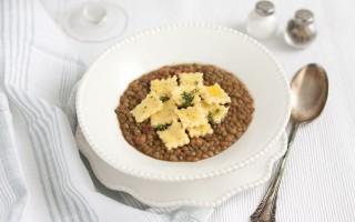 Ricetta zuppa di lenticchie con spoja lorda