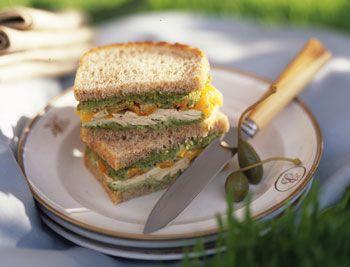 Ricetta sandwich di pollo e peperoni