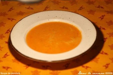 Ricetta crema gialla di peperoni