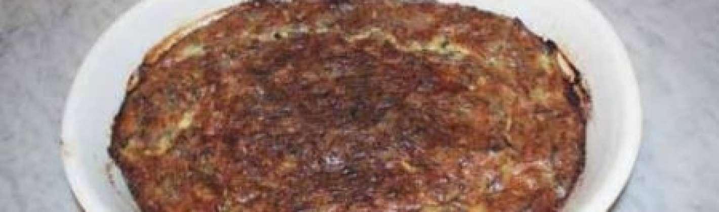 Ricetta sformato di carciofi light