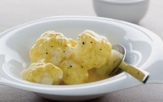 Ricetta cimette di cavolfiore in salsa d'uova