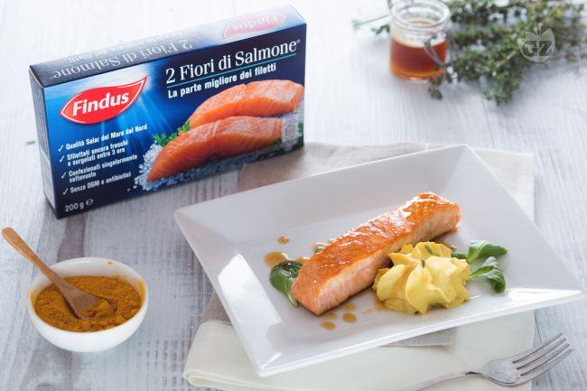 Ricetta salmone caramellato al miele