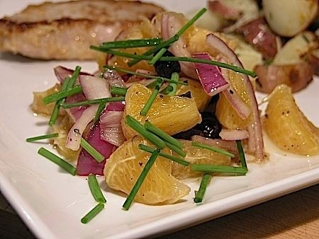 Ricetta insalate con arance e cipolla