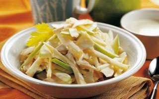 Ricetta insalata di tacchino, sedano rapa e mele