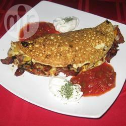 Omelette alla messicana