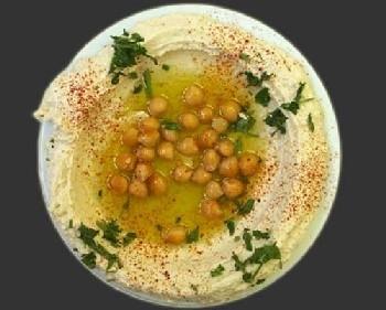 Ricetta hummus con ceci e uova sode