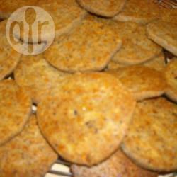 Biscotti salati alle olive nere