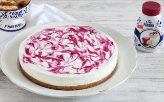 Ricetta cheesecake senza cottura marmorizzata
