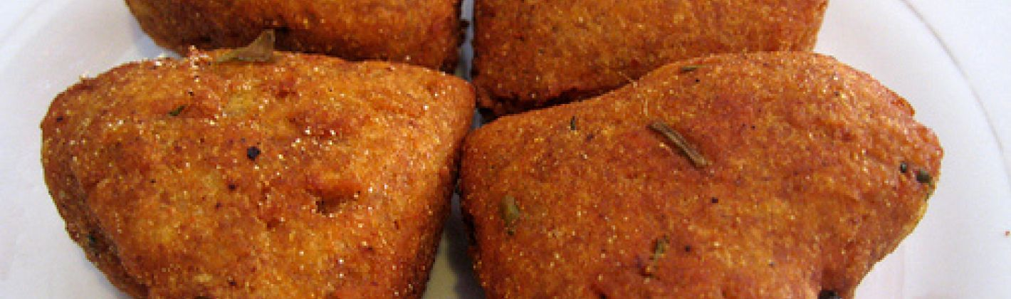 Ricetta aloo tikki (polpette di patate)