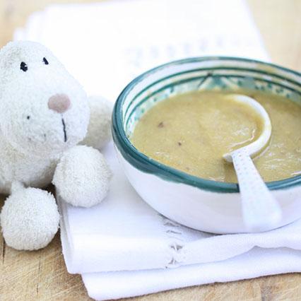 Zuppetta di orzo e lenticchie