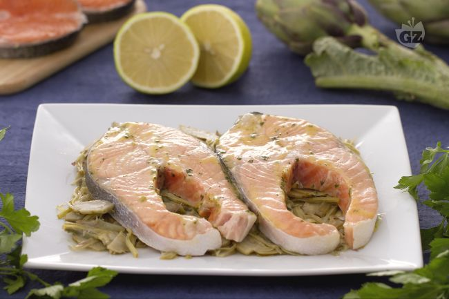 Ricetta salmone alla limoncina