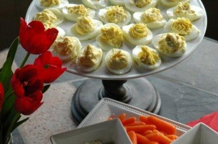 Ricetta uova farcite con crema di acciughe